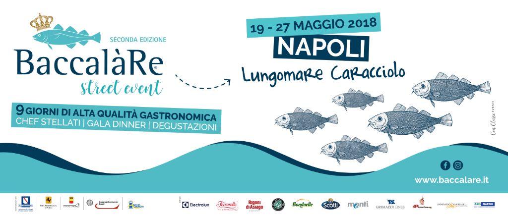 BaccalàRe,-Napoli,-Lungomare-Caracciolo,-18---27-maggio-2018